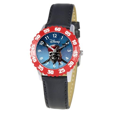 Disney Pirates of Caribbean Watch - Black