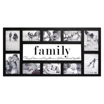 10 Opening Family Frame Glass