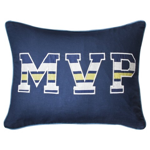 Sheringham Road Sports Fan MVP Pillow