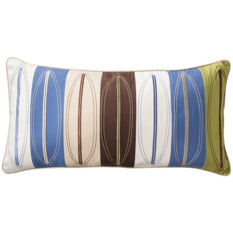 Sheringham Road Surf Stripe Surfboard Pillow