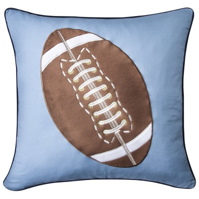 Castle Hill Sports Fan Football Pillow