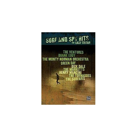 Surf and Spy Hits for Easy Guitar (Paperback)