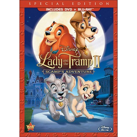 Lady and the Tramp II: Scamp's Adventure (2 Discs) (DVD/Blu-ray)
