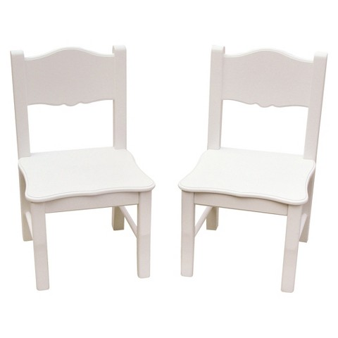 Guidecraft Classic Extra Chairs - White