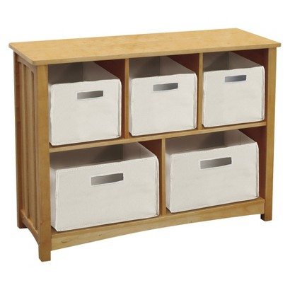 Guidecraft New Mission Bookshelf - Honey Oak