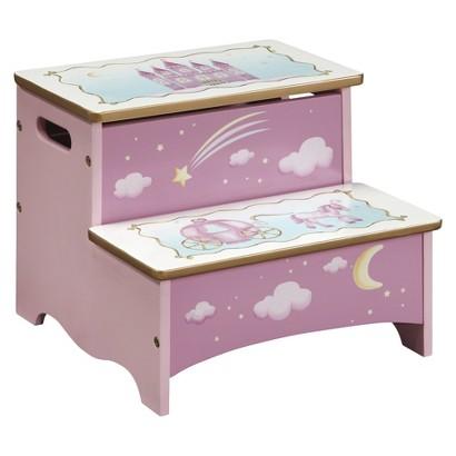 Guidecraft Princess Storage Step Up