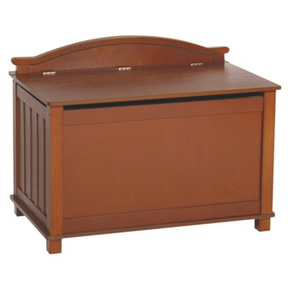 Guidecraft New Mission Toy Box - Honey Oak