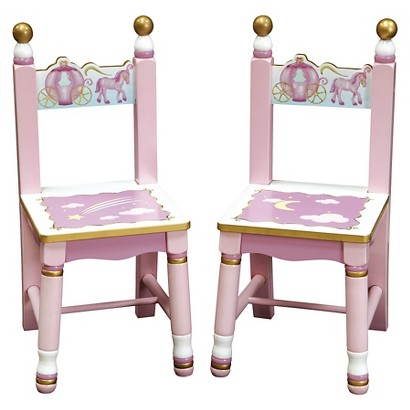 Guidecraft Princess Extra Chair Set of 2