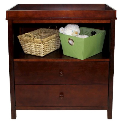 Summer Infant 2-Drawer Combo Changer - Mocha