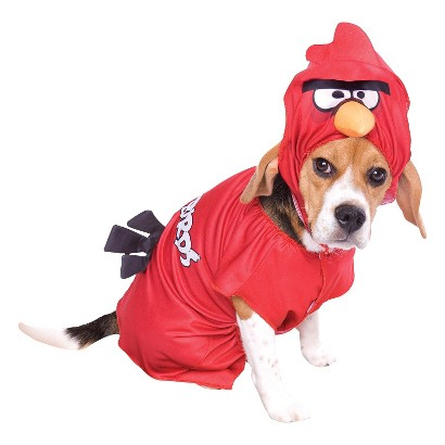 Image of Angry Birds Red Pet Costume - Medium