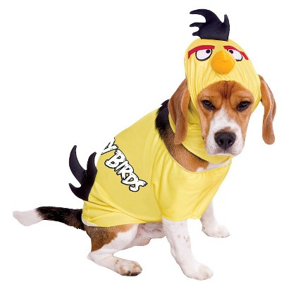 Image of Angry Birds Yellow Pet Costume - Large