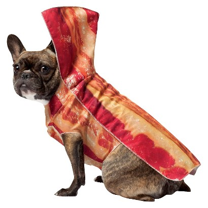 Image of Bacon Pet Costume - X-Small