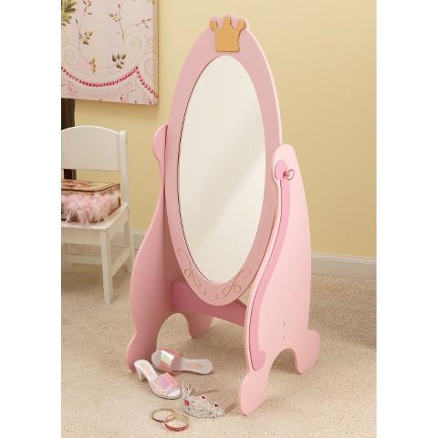 KidKraft Cheval Mirror - Pink