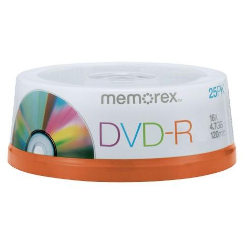 Memorex DVD-R Spindle Disc Pack - 25 PK