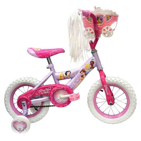 "Huffy Disney Princess Cruiser Bike 12"" - Pink/Purple"