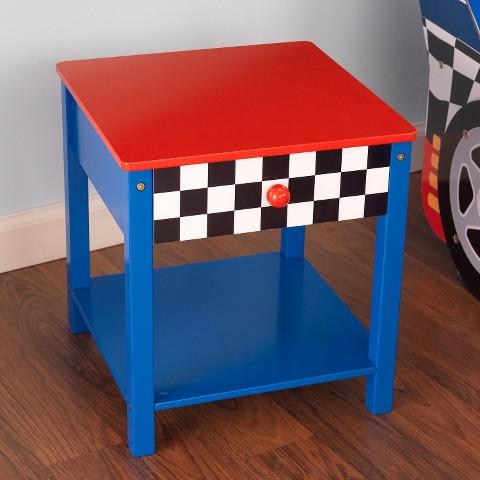 KidKraft Side Table - Race Car