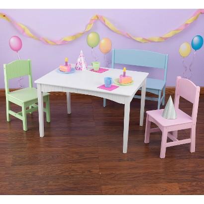 KidKraft Nantucket 1-Table and 2-Chair Set
