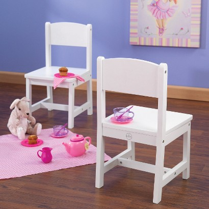 KidKraft Aspen Chair - White