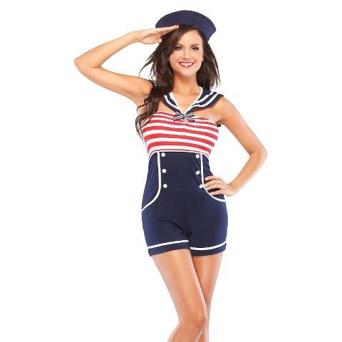Women's Pin Up Sailor Costume
