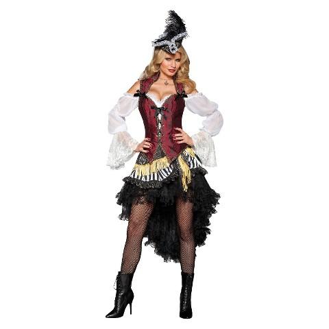 Women's Pirate's Treasure Costume