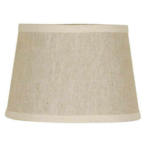 Threshold™ Textured Modified Drum Lamp Shade - Cream Small