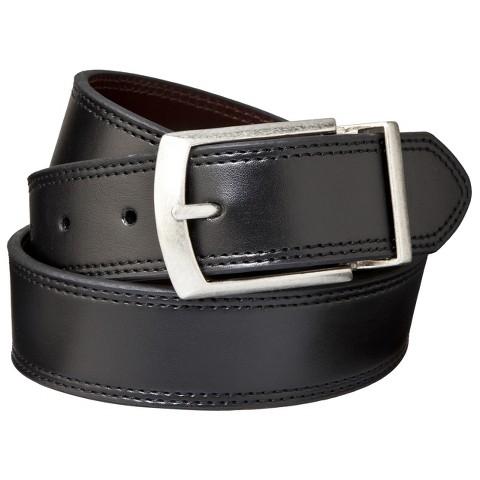 Dickies® - Men's Cut Edge Reversible Belt Black/Brown