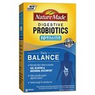 Nature Made Daily Balance Digestive Probiotic Capsules - 30 Count