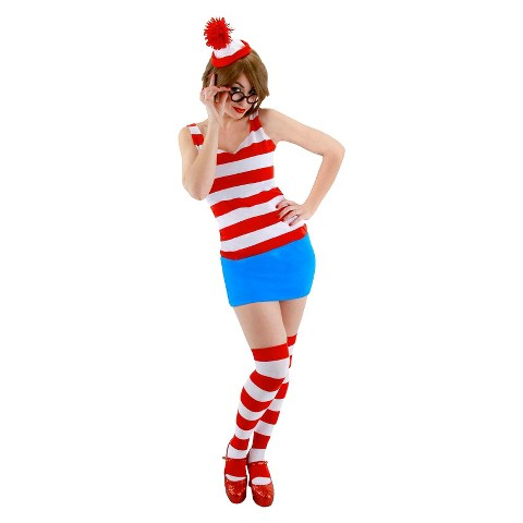 Women's Where's Waldo? Sassy Dress Costume
