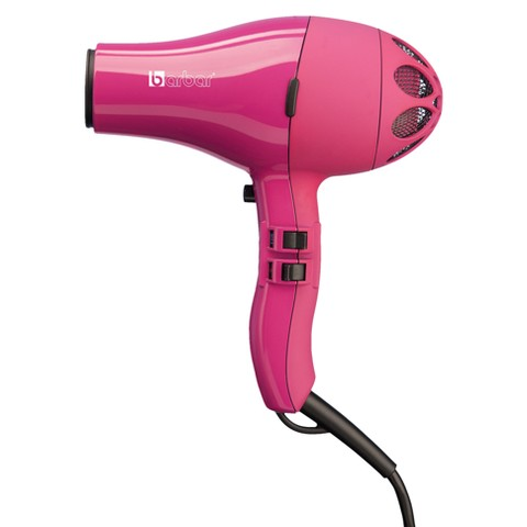 Barbar Italy 4800 Professional Travel Ionic Blow Dryer - Fuscia