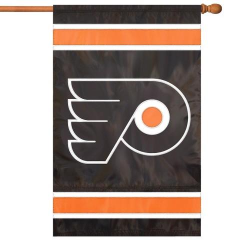 NHL Philadelphia Flyers Applique Banner Flag