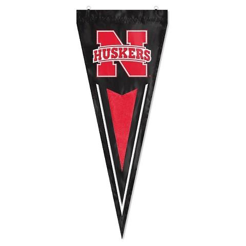Nebraska Cornhuskers College Yard Pennant