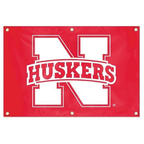 Nebraska Cornhuskers College Fan Banner