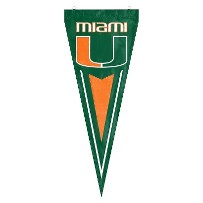 College Miami Yard Pennant