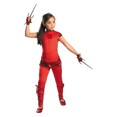 Girl's G.I. Joe Retaliation Jinx Classic Costume