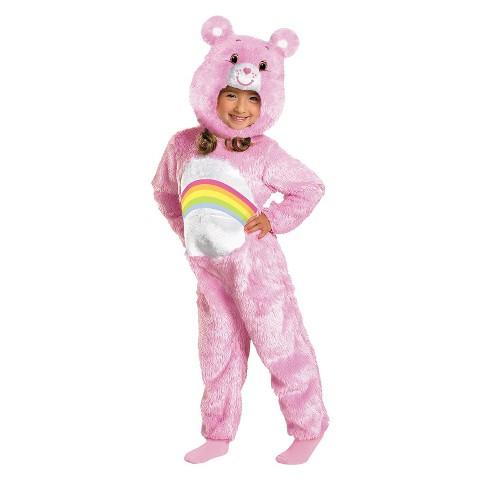 Infant/Toddler Cheer Bear Deluxe Plush Costume