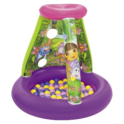 Nickelodeon Dora Calling All Explorers with 15 Balls - Multicolored