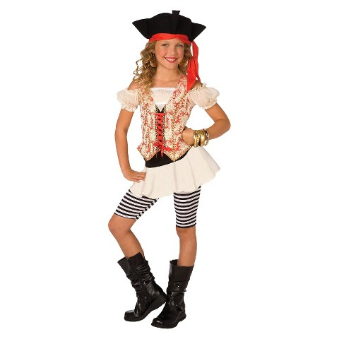 Girl's Swashbuckler Costume