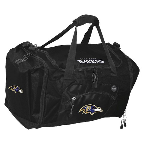 Baltimore Ravens Concept One Roadblock Duffel - Black