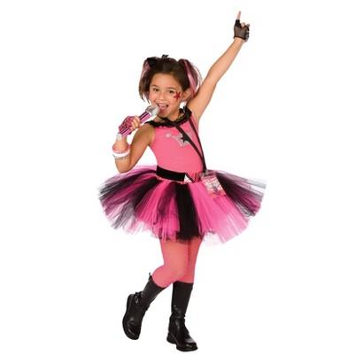 Girl's Glam Rocker Costume