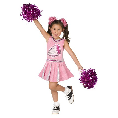 Girls cheerleader costume product details page