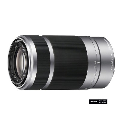Sony 55mm-210mm Wide Angle Lens - Silver (SEL55210)