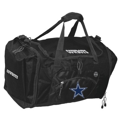 Concept One Dallas Cowboys Roadblock Duffel - Black