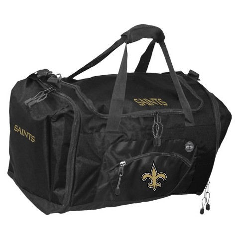 Concept One New Orleans Saints Roadblock Duffel - Black