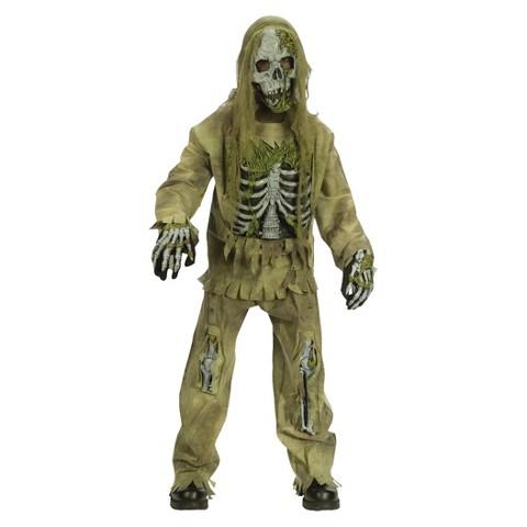 Boy's Skeleton Zombie Costume