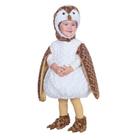 Toddler Barn Owl Costume