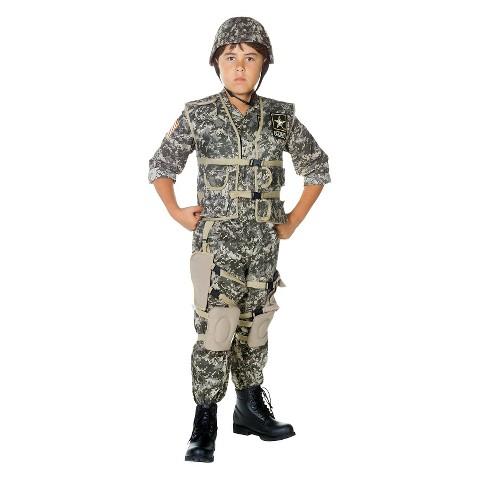 Boy's U.S. Army Ranger Deluxe Costume