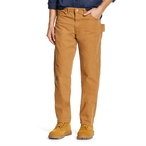 Dickies® - Men's Relaxed  Straight Fit Brushed Canvas Carpenter Jean