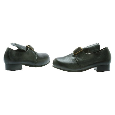 Kid's Colonial Shoes - Black