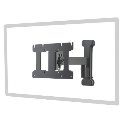 """Sanus Classic Small Full Motion Wall Mount for 13"""" to 26"""" TV's - Black (MSF07-B1)"""