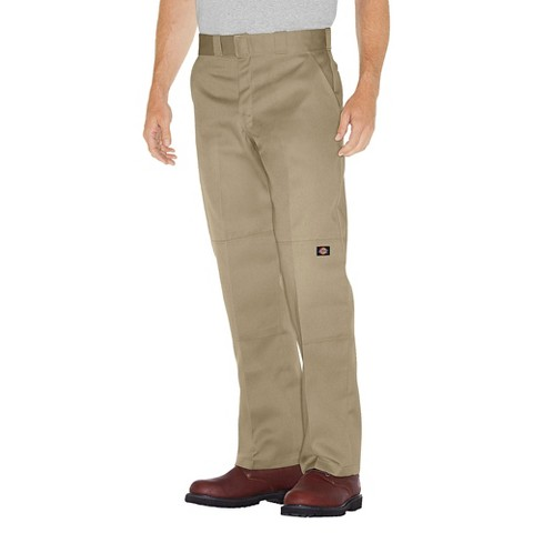 Dickies® Men's Relaxed Straight Fit Twill Double Knee Pant